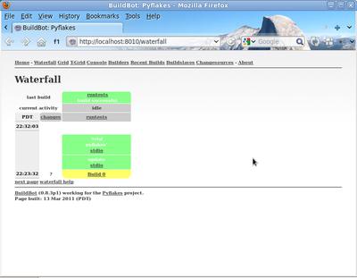 Buildbot 0 8 12 documentation