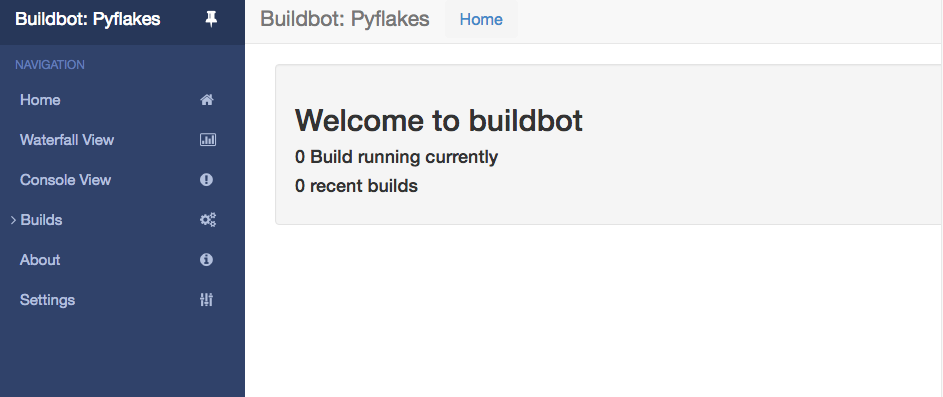 Buildbot 1 3 0 documentation