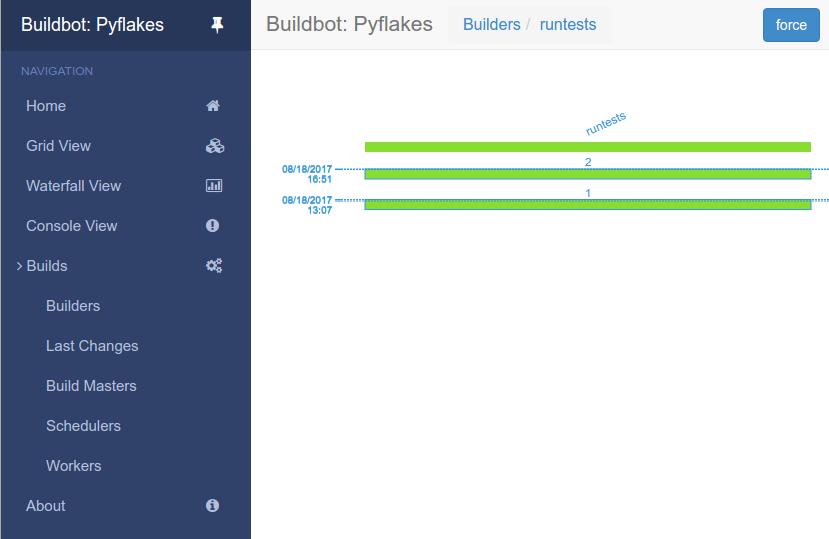 Buildbot 1 3 0 documentation