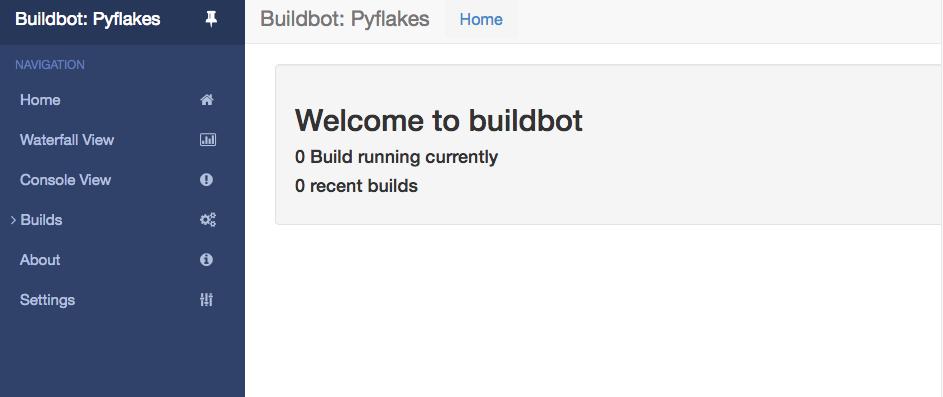 Buildbot 1 6 0 documentation