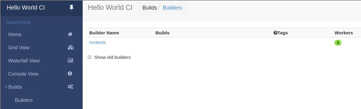 Buildbot 2 0 1 documentation