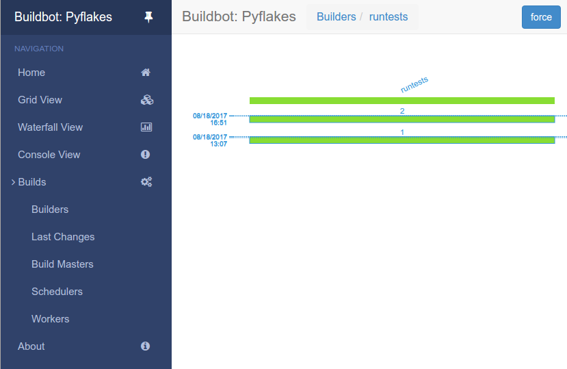 Buildbot 2 3 0 documentation
